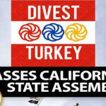 California State Assembly Votes to Divest from Turkey